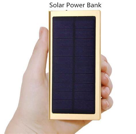 Power Bank Samsung Solar Cell large capacity 20000mh 50000mah solar power bank no 100000 powerbank portable usb charger 18650