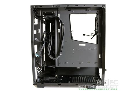nzxt s340 fans nzxt s340 review a compact mid tower chassis