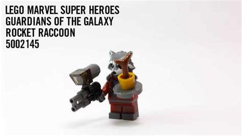 Lego Marvel Heroes 5002145 Rocket Raccoon lego marvel guardians of the galaxy rocket raccoon 5002145 build
