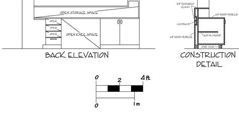 reception desk designs drawings woodwork reception desk construction drawings pdf plans