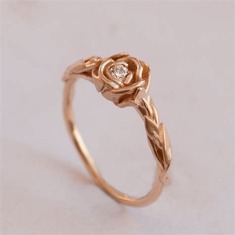 eheringe rosegold give gold ring to your loved one unique engagement ring