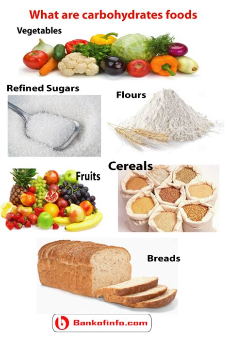 carbohydrates what foods what are carbohydrates foods bank of information