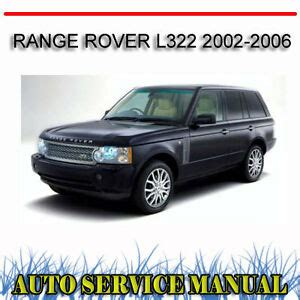 how to fix cars 2006 land rover range rover parental controls range rover l322 2002 2006 service repair manual dvd ebay