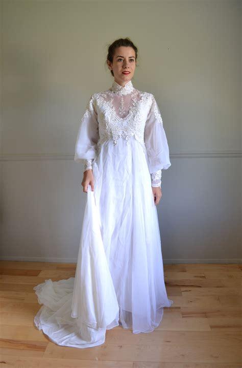S Wedding Dresses by 70s Wedding Dress 1970s Wedding Dress