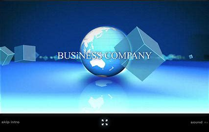 General Business Flash Intro Template Custom Intro Templates