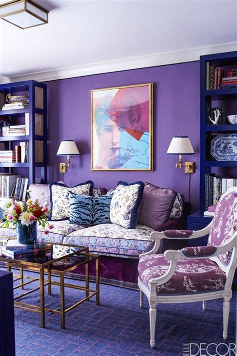 purple rooms walls ideas  decorating