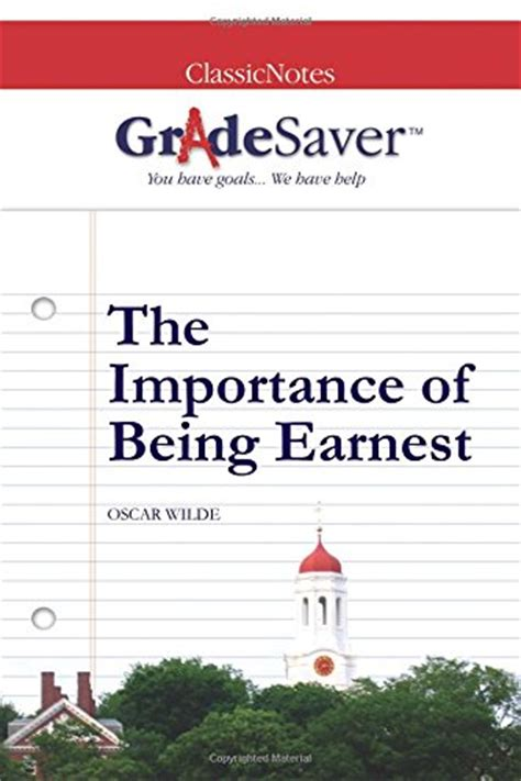 themes the importance of being earnest mini store gradesaver