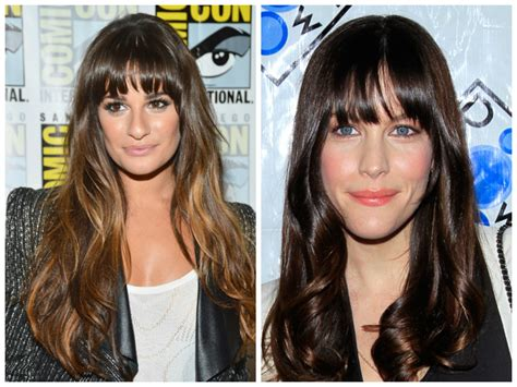 oblong face shape and bangs the best bang hairstyles for oval face shapes women