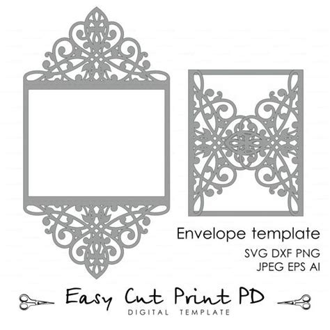cut out card templates free best 25 cricut invitations ideas on cricut