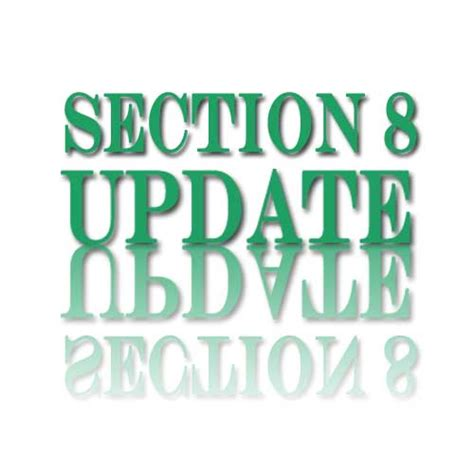section 8 update update cook county section 8 amendment