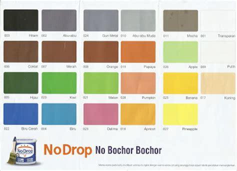 katalog warna  drop