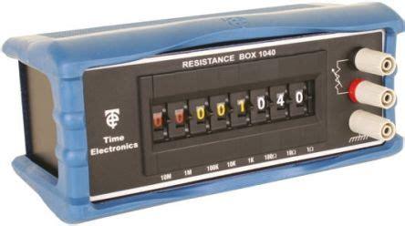 decade resistance box time electronics 1 x time electronic 1040 decade box type resistance resistance resolution 1ω ebay