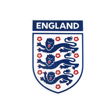 Three Lions football association three lions crest car magnet