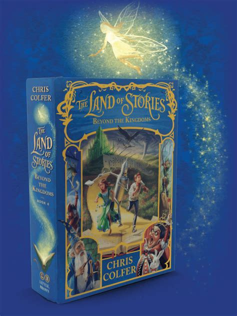 beyond books the series the land of stories by chris colfer