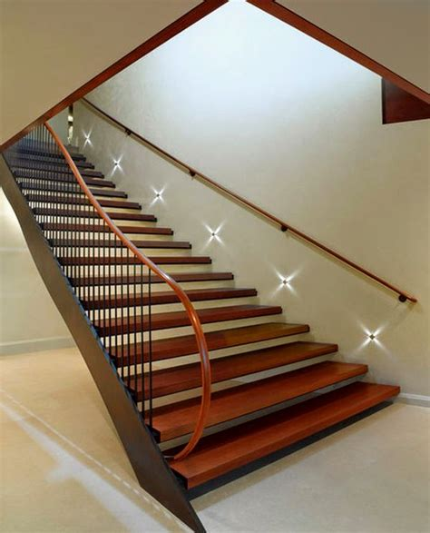 Stair Lighting Fixtures Cool Indoor Stair Lighting Ideas Led Stair Lights