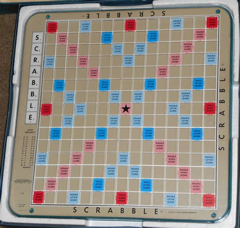turntable scrabble board sold scrabble deluxe edition blue turntable rotating