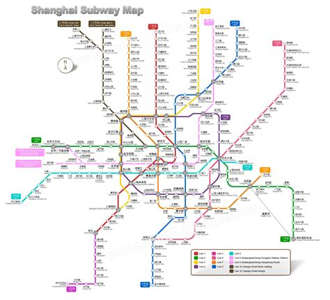shanghai metro map shanghai map map of shanghai s tourist attractions and subway