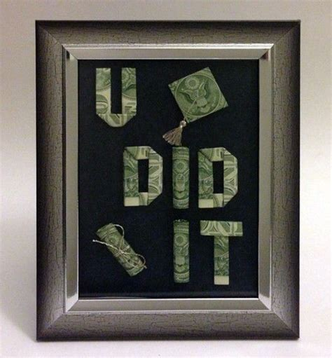 Origami Dollar Sign - 20 best images about student graduation gift ideas on