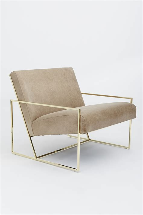 Lounge Chair by Thin Frame Lounge Chair Lawson Fenning
