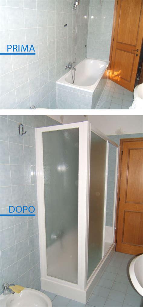 vasca point great prima e dopo vasca doccia with vasca doccia