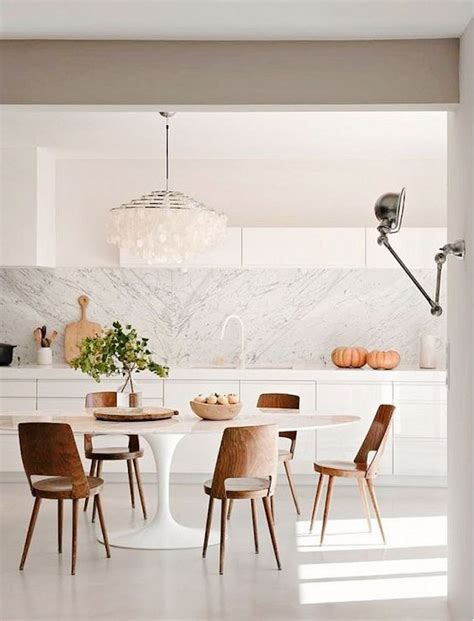 White Marble Kitchen Table 15 Astounding Oval Dining Tables For Your Modern Dining Room