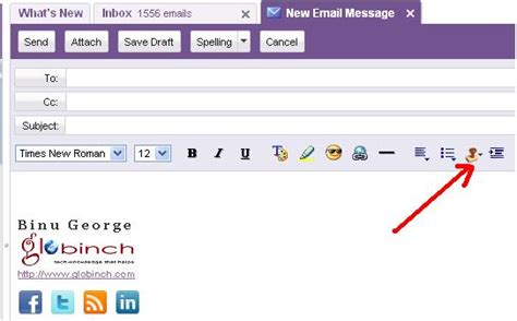 email yahoo signature add email signatures with images to gmail yahoo mail aol