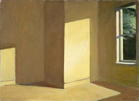 sun in an empty room philip koch paintings painting in the edward hopper house center