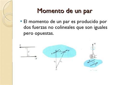 de un momento a fisica