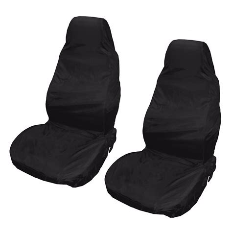 2 P Cars A Pair Of Waterproof by 2x Universal Waterproof Front Car Seat Covers