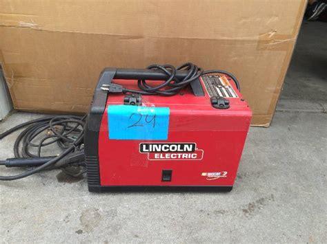 lincoln electric weld pak 140 hd wire feed welder model