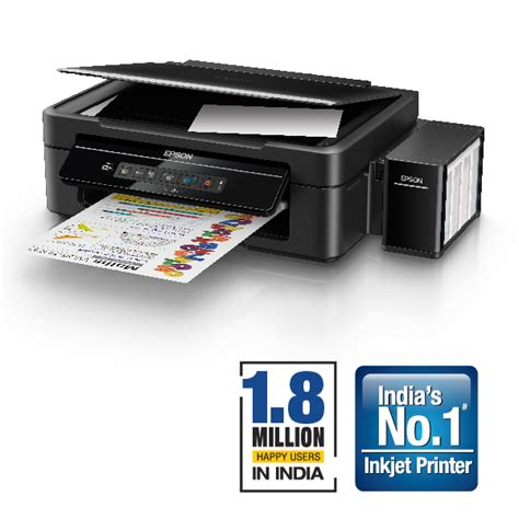 Printer Epson L385 Ink Tank All In One Print Scan Copy Wifi in buy epson l385 wi fi all in one ink tank