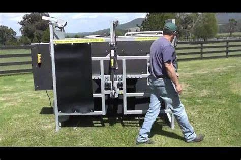 cattle hoof trimming table for sale for sale cattle hoof trimming table youtube