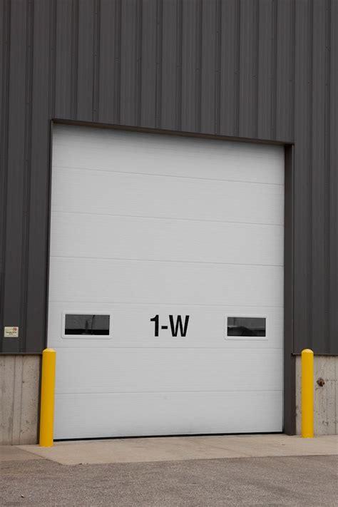 V Groove Insulated Commercial Garage Doors St Cloud Mn Adw St Cloud Overhead Door