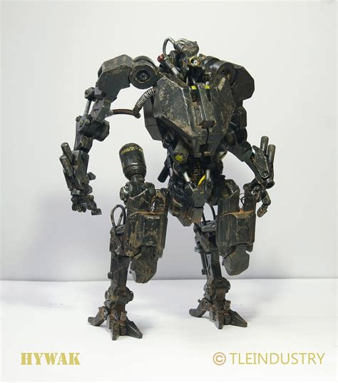 Mecha Model tleindustry hywak mech model mightymega