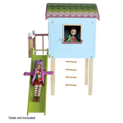 lottie dolls house dollhouse by lottie lt0892 treehouse dolls clothes