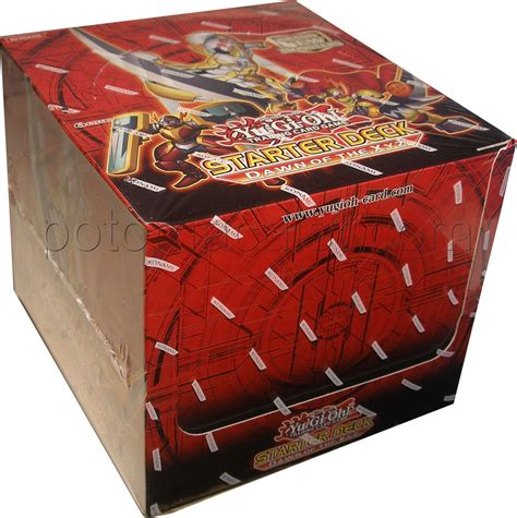yugioh deck box yu gi oh of the xyz starter deck box potomac