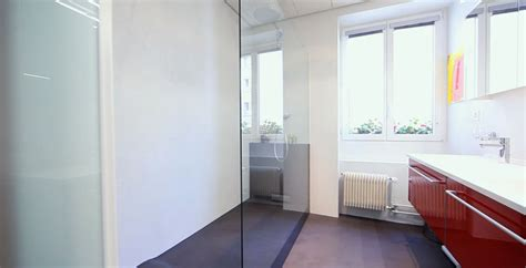 schiebetür glas badezimmer glas trennw 228 nde in bad und badezimmer