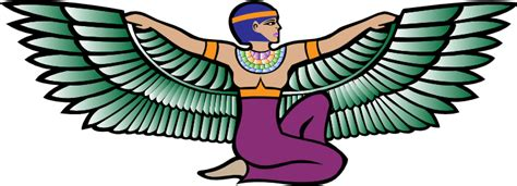 isis egyptian goddess clip art angel clipart egyptian pencil and in color angel clipart