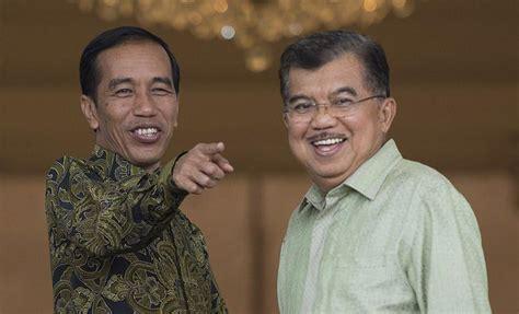 biodata joko widodo dan jusuf kalla presiden dan wakil presiden jusuf kalla makan siang bersama