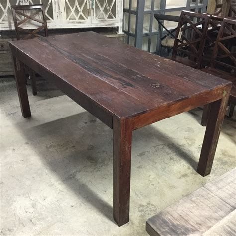 reclaimed wood table reclaimed wood dining table nadeau miami