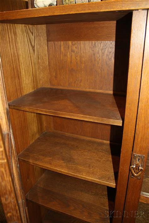 stickley bookcase for sale gustav stickley two door bookcase sale number 2626b lot