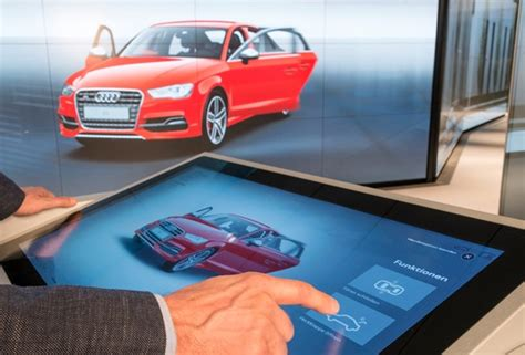 audi digital showroom audi city digital experience opens in berlin retail