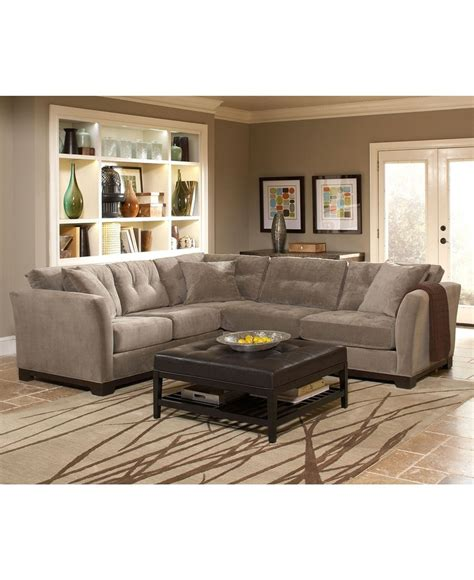 elliot fabric sectional living room furniture collection elliot fabric sectional sofa collection furniture macy