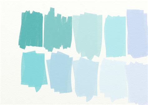 Kitsch Home Decor country living blue color swatches paperplayday s blog