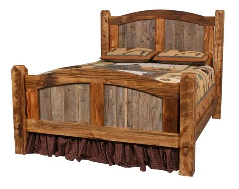 barn wood bed frame barn wood bed frame plans woodworking projects plans