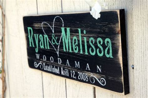 Personalized Home Decor Signs Last Name Home Decor Personalized Rustic Wood Signs Wedding Wood Sign