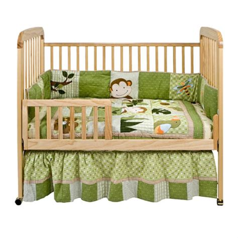 alpha standard crib features adjustable height to grow