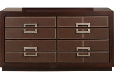 city view bedroom set city view merlot reddish brown dresser contemporary