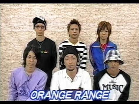 orange range orange range オレンジレンジ 2004年の3シーンコメント youtube