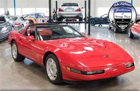 1992 corvette targa coupe hatchback 5 7l v8 6 speed manual 92 2 owner 14k miles for sale